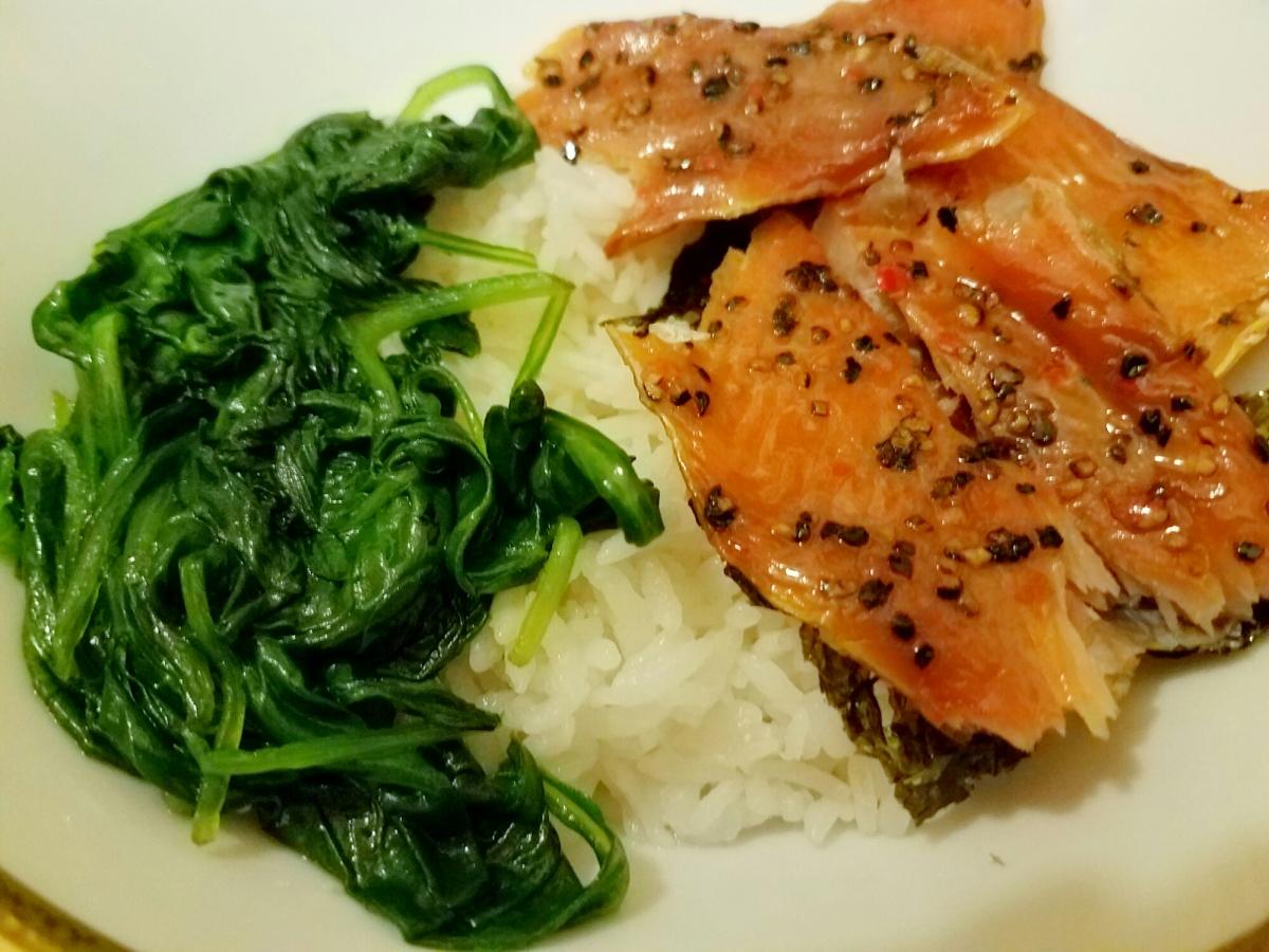 Meal Prep Monday: Salmon RiceBowl