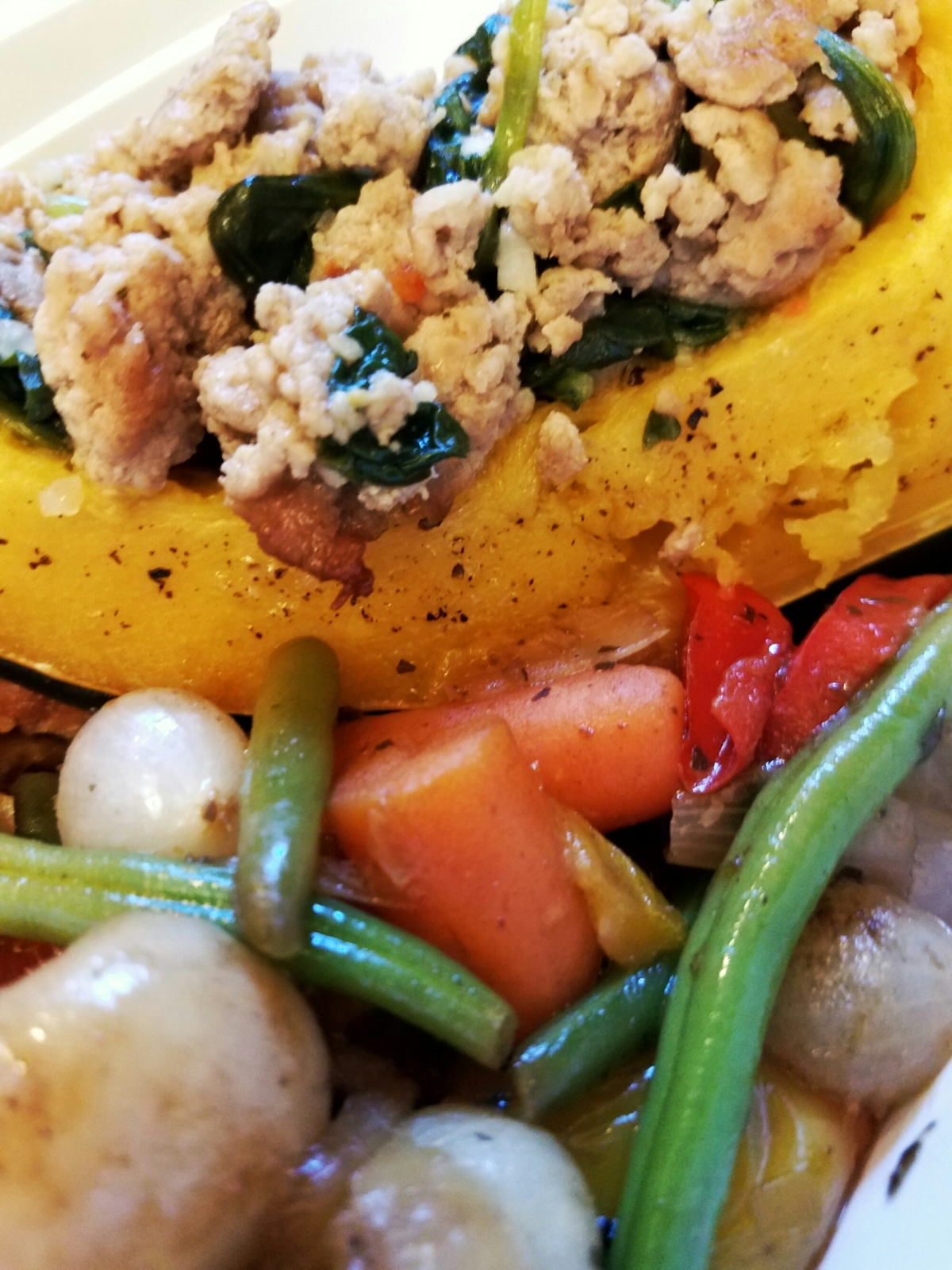 Weekly Meal Prep: Stuffed Acorn Squash