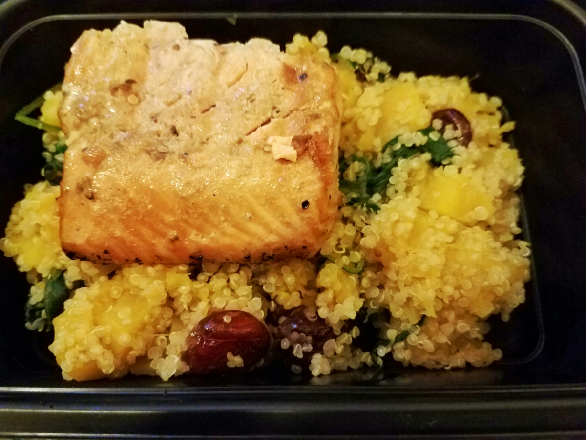 Meal Prep Monday: Grilled Salmon & Quinoa