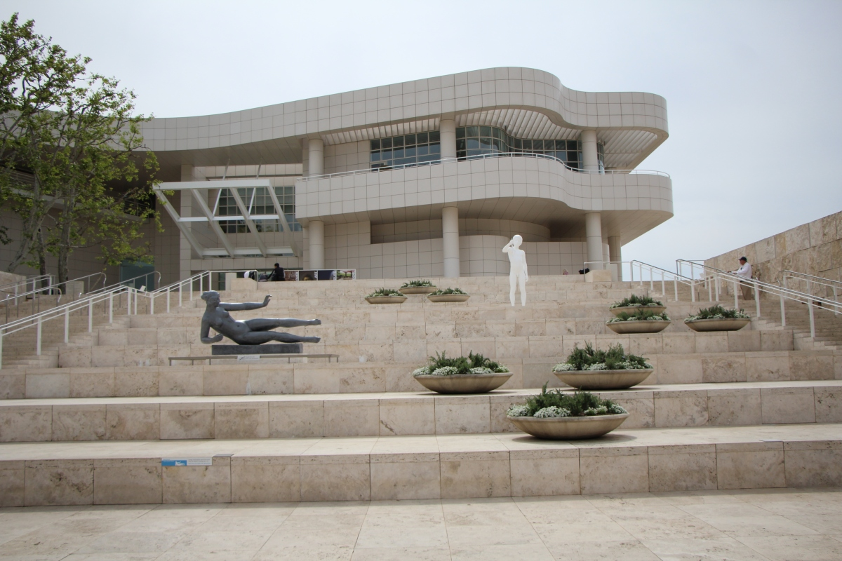 Musings on the Getty Center and Museums in General,